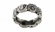 Сребърен пръстен R37