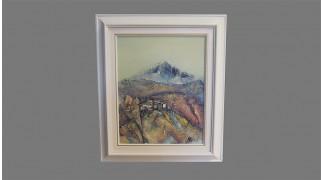 Картина с маслени бои - Къщи k47/39