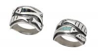 Сребърен пръстен R122