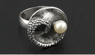 Сребърни пръстени с перли