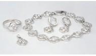 Сребърен комплект 025-049
