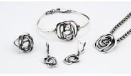 Сребърен комплект 1108-1111
