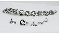 Сребърен комплект 521-508