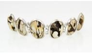 Сребърна гривна oaB306