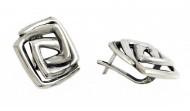Сребърни обеци cE039
