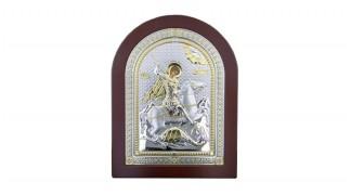 Сребърна икона Св. Георги 84260