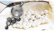 Сребърни висулки и медальони с перли