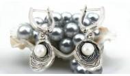 Обици с перли