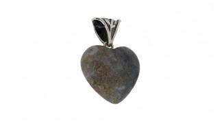 Сребърна висулка Сърце AgMU024a